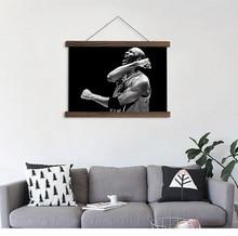 Здесь можно купить  Artryst Modern home decor hanging paintings art module picture basketball player HD printed on canvas for living room wall  Home Decor