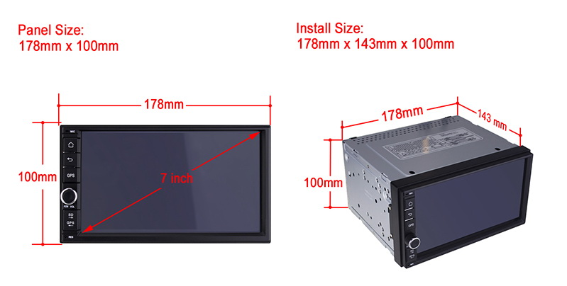DOUBLE DIN CAR DVD ANDROID