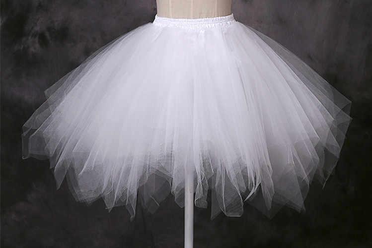 Boda algodón oversize falda crinoline short enaguas jupon tul mariage enagua para boda bustle crinoline WAS10030