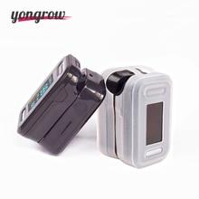yongrow Oximetro De Pulso De Dedo Fingertip Pulse Oximeter with  Silicone Case Black Pulsioximetro