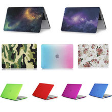 laptop case  for Apple MacBook  Air 11 11.6 inch  Crystal/Matte/Rainbow/Printing Case Cover for MacBook A1465 A1370