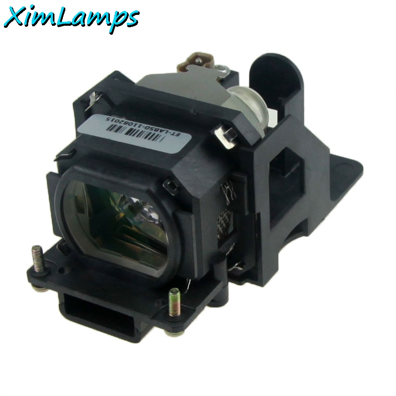 XIM Lamps XIM ET-LAB50 Projector Lamp with Housing for Panasonic PT-LB50EA PT-LB50NTEA PT-LB50SE PT-LB50SU,PT-LB50U,PT-LB51 et lab50 for panasonic pt lb50 pt lb50su pt lb50u pt lb50e pt lb50nte pt lb51 pt lb51e pt lb51u projector lamp bulb with housing