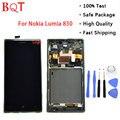 BQT Магазин Lumia 830 Рамке ЖК-ЭКРАНА Для Nokia Lumia 830 N830 ЖК-Дисплей С Сенсорным Экраном Дигитайзер Ассамблеи Высокого Качества