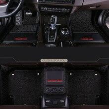 Car Believe car floor mats For peugeot 307 sw 508 sw 308 301 2008 5008 2010 4008 607 3008 accessories carpet rug