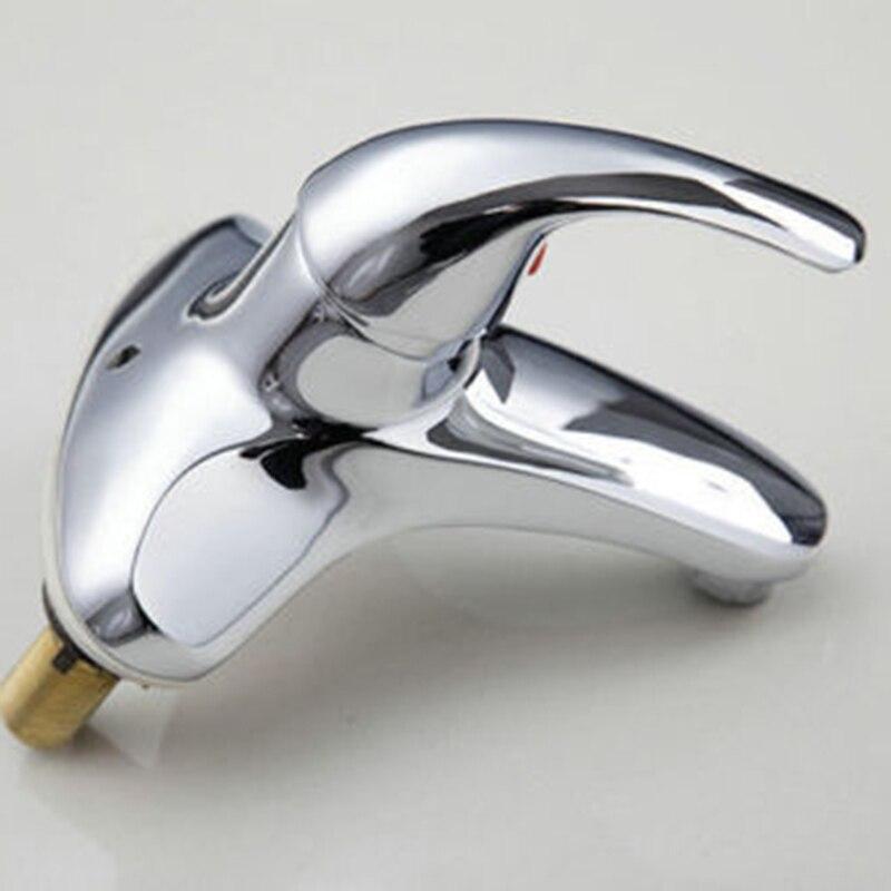 Fashion New Chrome Polished Kitchen Faucet Single Handle Single Hole Sink Bathroom Faucet torneira