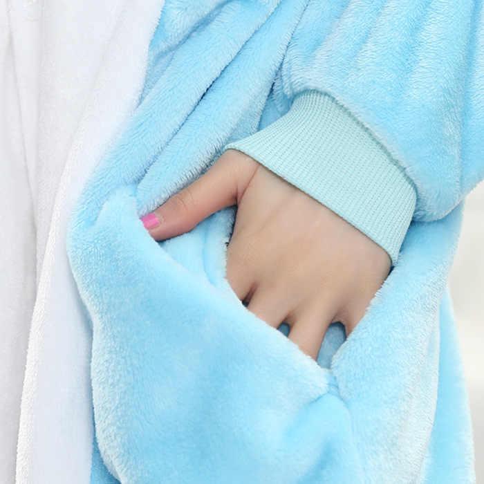 ... Высокое качество унисекс для взрослых женщин животных Fairy Tail Happy Cat  пижамы Kigurumi мультфильм зима косплэй 3c1657aed6002