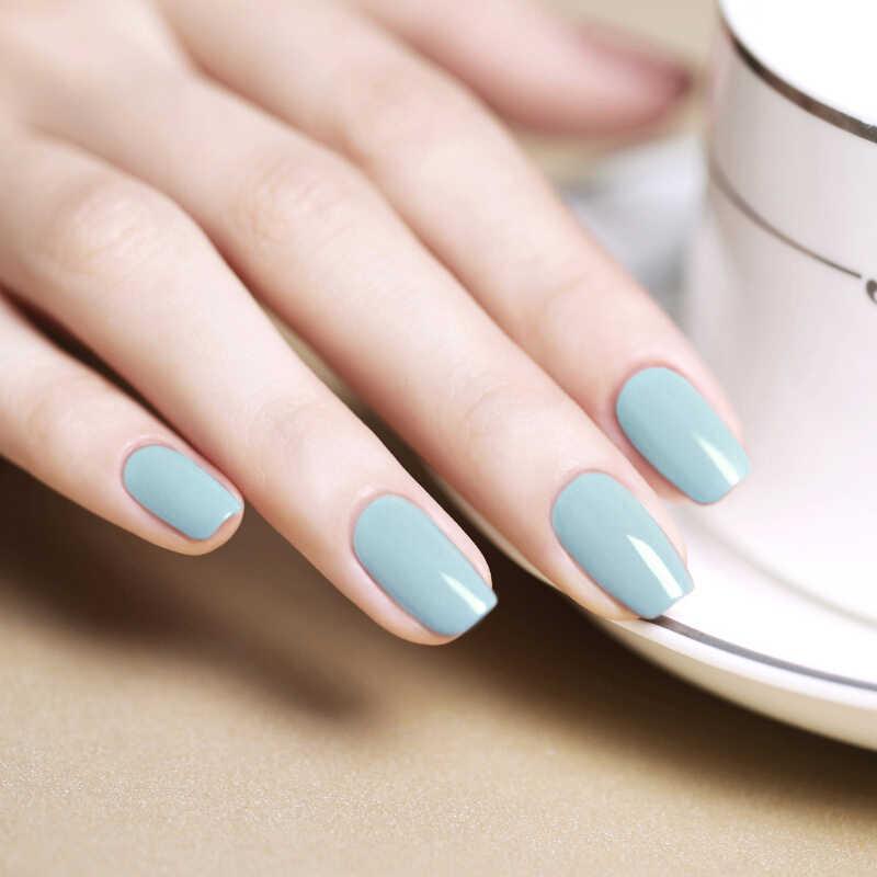 Gelfavor 7ml lakier żelowy szara seria UV żelowy lakier do paznokci led Soak off paznokcie sztuka lakier żelowy potrzebujesz bazy i warstwa wierzchnia do paznokci Deasign