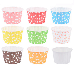 48pcs cupcake liner baking cup cupcake paper muffin cases Cake box Cup egg tarts tray cake mould decorating tools(China)