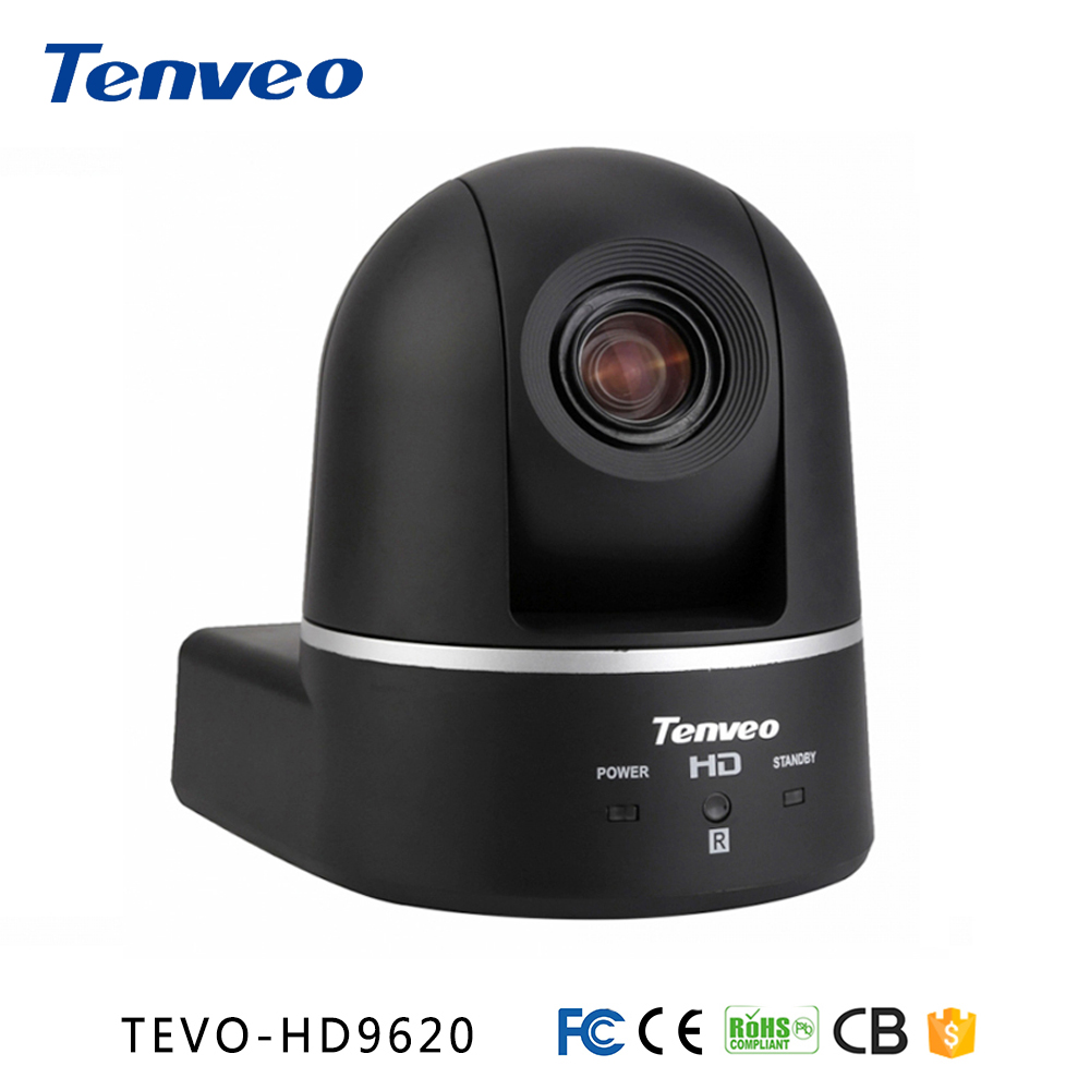 "Tenveo HD9620 HD 1080P Aparat de conferință HDMI SDI HD Camera PTZ 20X Zoom Video Camera de conferințe 1 / 2.8 ""HD CMOSS"