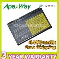 Apexway ноутбука Батарея для Acer Aspire 2490 3900 4200 4230 4280 4260 5100 5510 5515 5210 5650 5680 9110 9120 9800 9810 9920 г