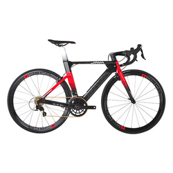 java bicycle suprema Carbon Aero Road Bike - Made with Japanese 700-Series Lightweight Carbon Fiber with Shiman o 105/R7000