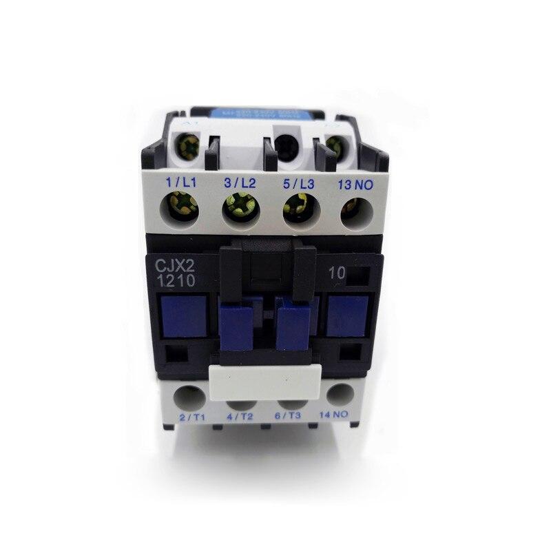 High Strength CJX2-1210 24V AC Coil 3-Phase 50//60Hz Motor Starter Contactor