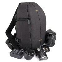 DSLR Camera Bag Sling Shoulder Backpack Case For Sony Alpha A3500 A77 A99 A7 Mark II 2 3 A3000 A37 A55 A55V A56 A57 A58 A65 A68