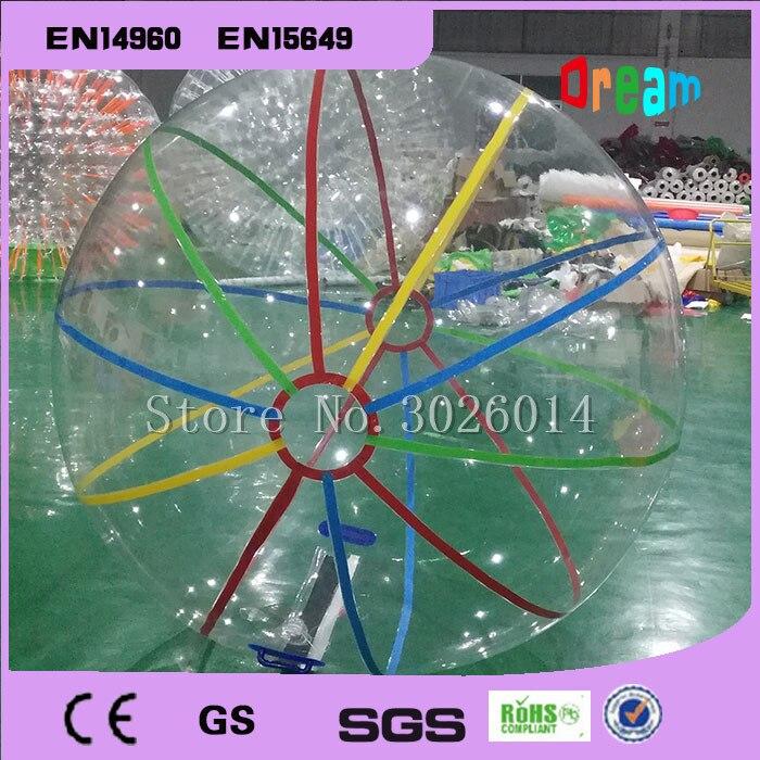 Livraison gratuite ballons d'eau gonflables, rouleaux d'eau, piscine gonflable et boule de marche de l'eau gonflable loisirs 2 M boule de danse