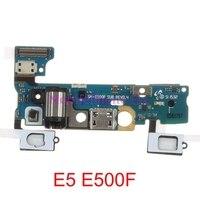 USB Ladeanschluss Flex Kabel Für Samsung Galaxy E5 E500F E500M Usb-ladegerät Dock Connector Flex Kabel Ersatzteile