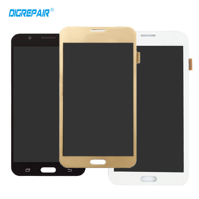 Black White Golden For Samsung Galaxy J7 SM-J700M J700H J700DS J700M LCD Display Touch Screen Digitizer Full Assembly