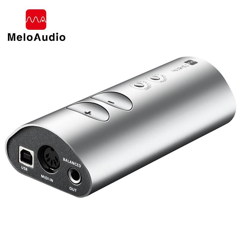 Mini carte son d'interface Audio USB TS pour enregistrement de Microphone d'instrument émission en direct Portable pour guitare d'ordinateur de téléphone