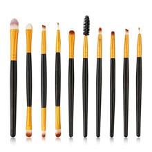 Professional Quality 10pcs/set Makeup Brush Set tools Make-up Toiletry Kit Wool Make Up pincel maleta de maquiagem