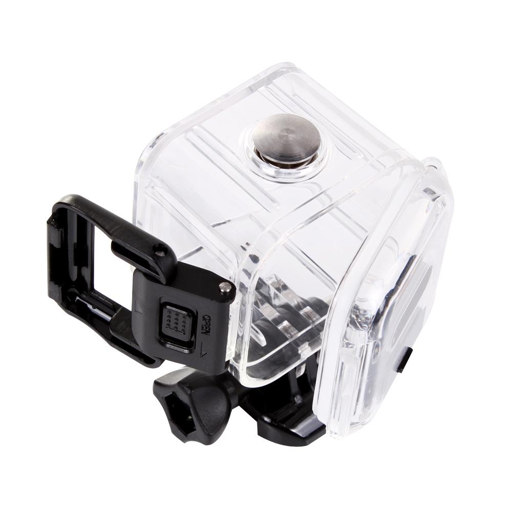 LoogDoo for GoPro Accessories Transparent Underwater Waterproof Protective Housing Case For Go pro Hero 4 Session Camera GP309 in Sports Camcorder Cases from Consumer Electronics