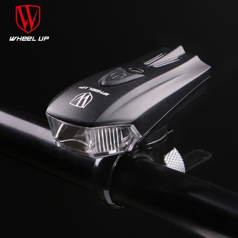 WHEEL UP LED USB įkraunamas dviračio priekinis dviračio priekinis - Dviratis - Nuotrauka 4