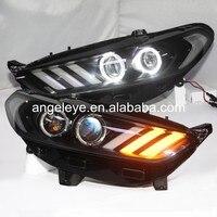 2013 2015 год ford для Mondeo светодиодный налобный фонарь Фары для автомобиля спереди свет для Mustang стиль JC