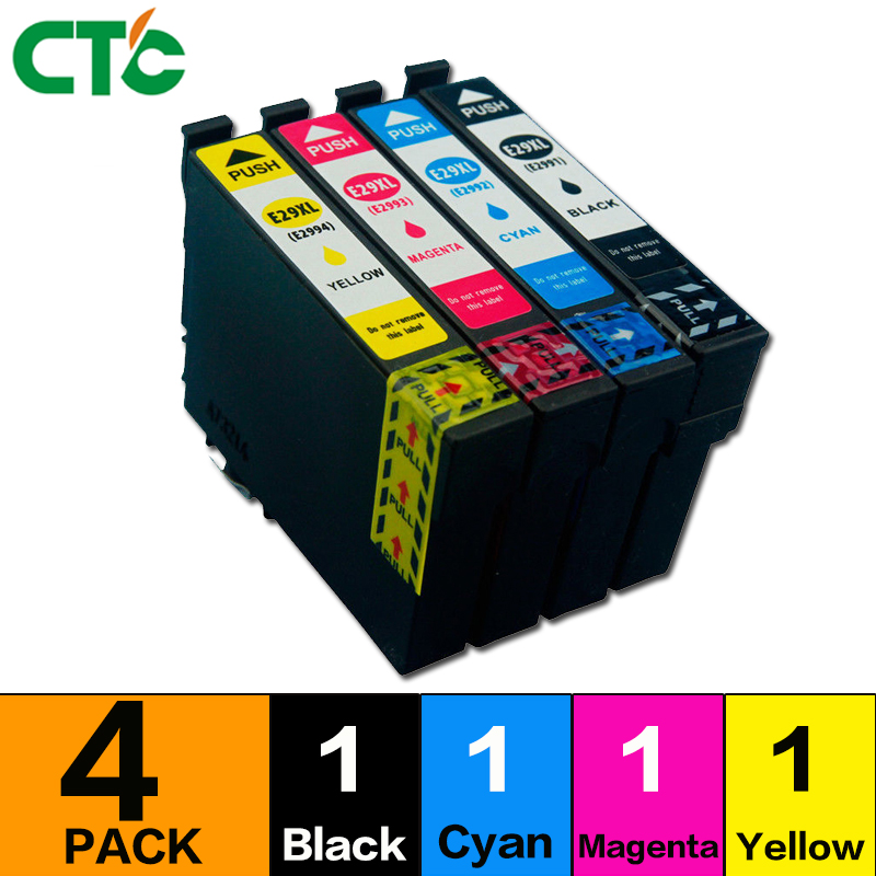 1 set T2996 29XL Ink Cartridge For Compatible XP 235 335 332 432 435 442 332 342 345 245 247 Printer