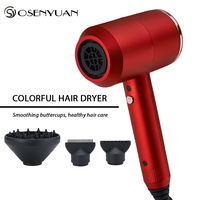 New 2000W Professional Salon Hair Dryer 2 in 1 Hot Air Brush Hair Dryers Negative Ionic Hair Blow Dryer