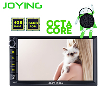 JOYING 2 DIN Авторадио android 8 Автомагнитола для Honda Civic Octa core стерео для CRV 4 Гб ram HD видео плеер для Odyssey/H-RV