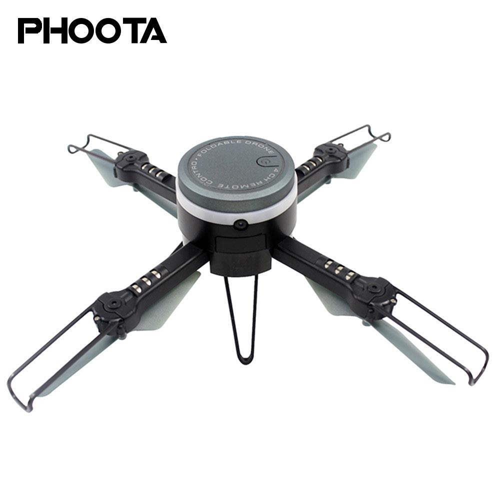 Phoota Quadcopter Double Mode Webcam Security Camera WiFi FPV Real-Time Live Intelligent Premium Drone cewaal gps fpv stable gimbal drone live quadcopter intelligent g sensor aircraft wifi real time