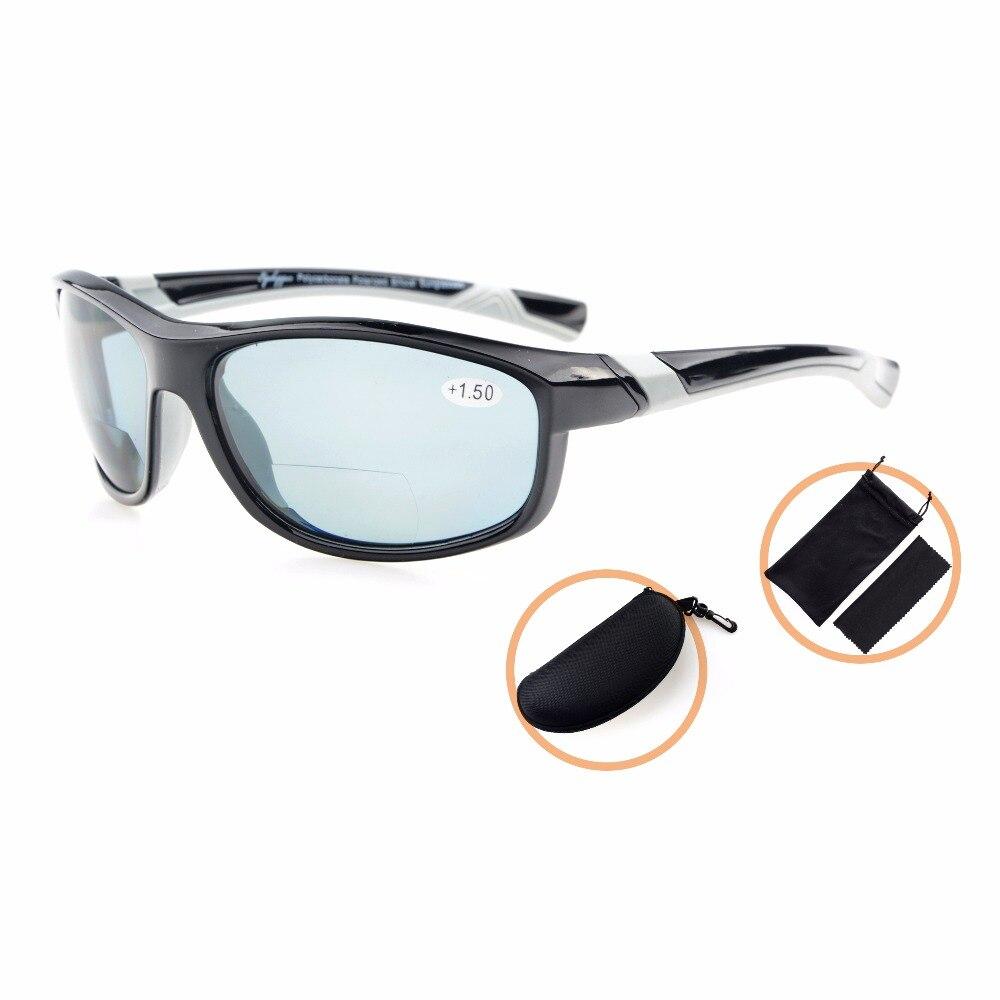 1 Frauen 2 Bifokale Polarisierte 2 Th6170pgsg 5 Unzerbrechlich Tr90 Eyekepper Sport 0 Für 50 Sonnenbrille Polycarbonat 0q7Rg7xv