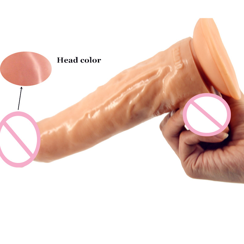 9.44Flesh Dildo Erotic Products Lesbian Sex Toys For Woman Fake Penis with Sucker Anal Plug big Dick Realistic Cock Sex Shop wearable penis sleeve extender reusable condoms sex shop cockring penis ring cock ring adult sex toys for men for couple
