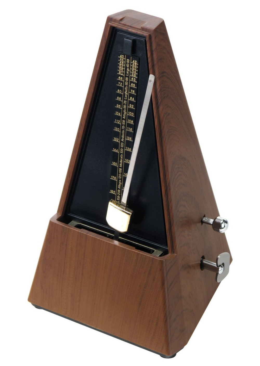 guitar mechanical pendulum metronome online audible click bell ring antique vintage style for. Black Bedroom Furniture Sets. Home Design Ideas