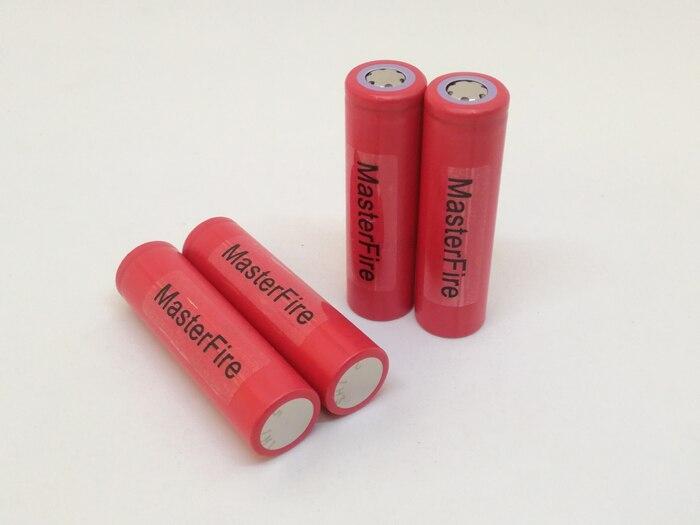 MasterFire 10 UR18650ZY pçs/lote New Original Sanyo 18650 3.7V 2600mAh bateria de lítio Recarregável pilhas Para Lanternas