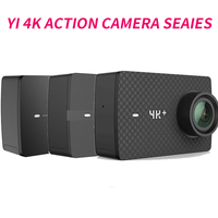 YI 4K+(Plus) Action Camera Xiaomi YI Lite 16MP Real 4K Sports Camera WIFI Bluetooth 2 Touch LCD Screen EIS 150 Degree Lens