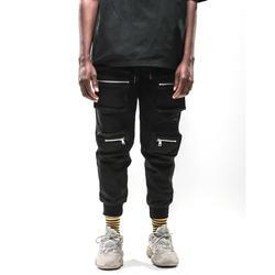 2019 High Street Новые горячие мужчины в стиле хип-хоп штаны с несколькими карманами высокое одежда для пребывания на открытом воздухе джоггеры