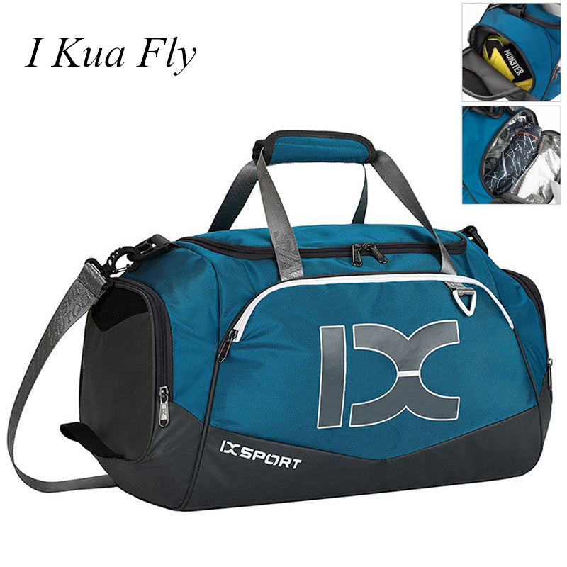 New Gym Bag For Women Men Fitness Outdoor Travel Shoulder Bag Handbag Waterproof Nylon Sports Sac