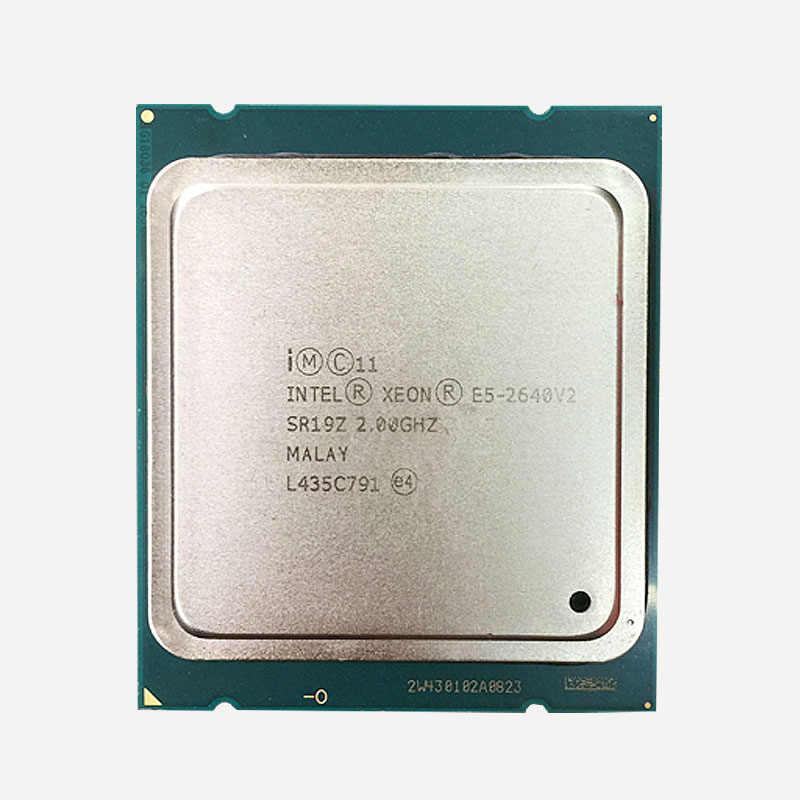 هوانان تشى خصم اللوحة مع M.2 فتحة X79 LGA2011 اللوحة مع وحدة المعالجة المركزية إنتل زيون E5 2640 V2 RAM (4 * 8G) 32G 1600 REG ECC