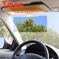 Sol viseira carro carro Auto Anti reflexo Dazzling Goggle dia e visão noturna espelho Sun viseiras