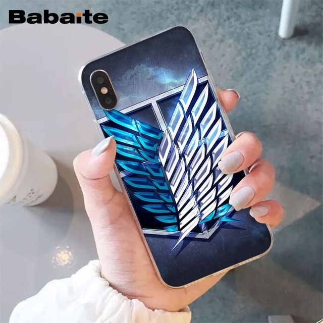 Attack On Titan Phone Case for iPhone