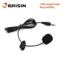 Erisin ES006 Мини 3,5 мм внешний микрофон для автомобиля DVD PC