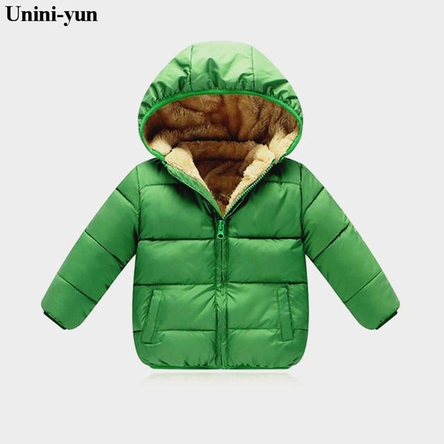 Best Price 9M-8Y Children's down jacket snow wear jacket for girls Infant baby boy outerwear babys jackets Hooded kids winter coats