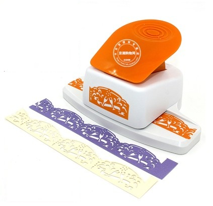 free shipping cheers shape border punch foam paper embossing punch  Edge craft punch scrapbook punches for paper cut
