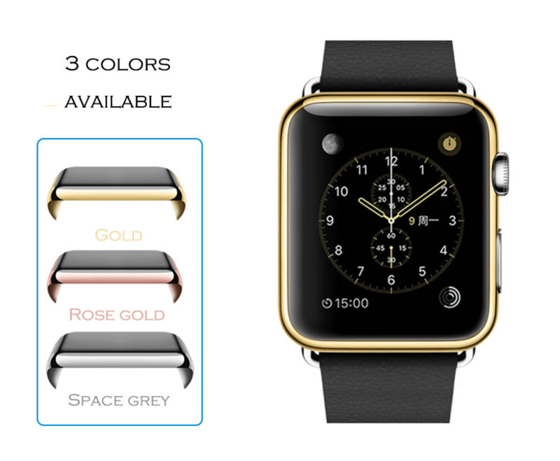 Urvoi Metal Electroplating Case For Apple Watch Full Cover