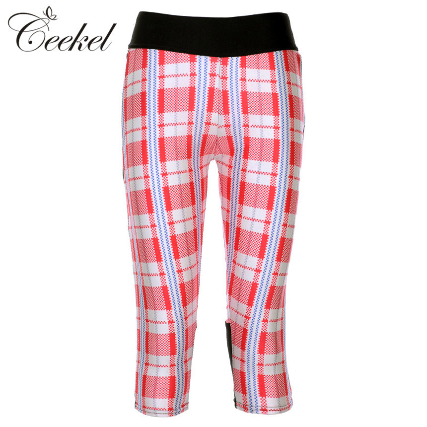Women's Plaid Leggings Fitness Workout Red Print Pant Plus Size Leggins  Mujer - Online Get Cheap Jeggings -Aliexpress.com Alibaba Group