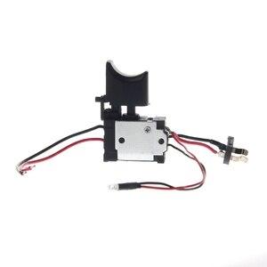 Image 1 - Электрическая дрель, пылезащитный контроль скорости, пусковой переключатель, переключатель постоянного тока 7,2 24 В, переключатель беспроводной дрели