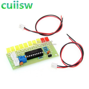 Image 2 - LM3915 10 Led Sound Audio Spectrum Analyzer Indicator Kit Diy Electoronics Solderen Praktijk Set