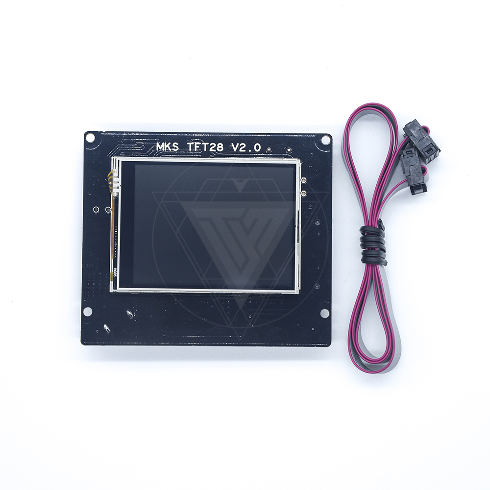 3D Printing touch screen RepRap controller panel MKS TFT28 V1.2 display color TFT support/WIFI/APP/outage saving for Motherboard