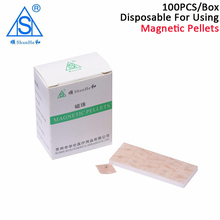 Shunhe 100 pcs/Box therapy patch Magnetic pellets magnets beads Ear acupuncture massage Good effect High Quality  magnet