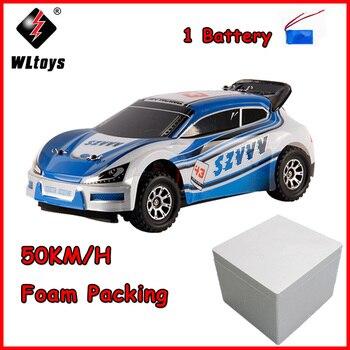 50 km/h A949 4WD 2.4 ghz Atualizado Wltoys RC Corridas de Alta Velocidade Do Carro Deriva Carro Brinquedos 1:18 de Alta Velocidade Eletrônico carros