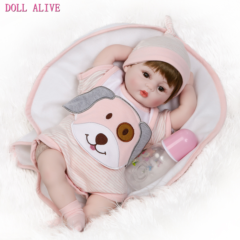 40CM/16 Inches Realistic Reborn Babies Doll Vinyl Doll Reborn Toy for Kids Toy Birthday Gift,Cute Soft Newborn Doll with Clothes doll reborn princess18 inches american girl dolls babies realistic doll cute doll handmade full vinyl gift for children